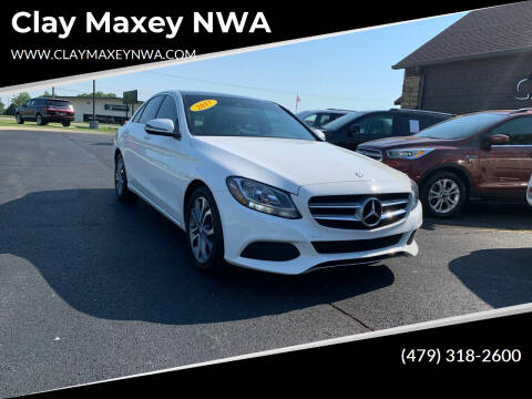 2017 Mercedes-Benz C-Class for sale at Clay Maxey NWA in Springdale AR