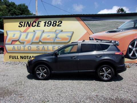 2017 Toyota RAV4 for sale at Pyles Auto Sales in Kittanning PA