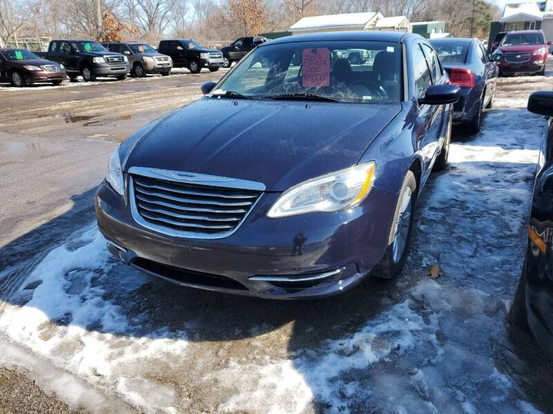 2013 Chrysler 200 for sale at ASAP AUTO SALES in Muskegon MI