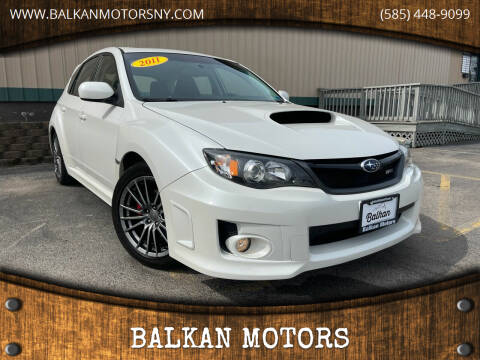 2011 Subaru Impreza for sale at BALKAN MOTORS in East Rochester NY