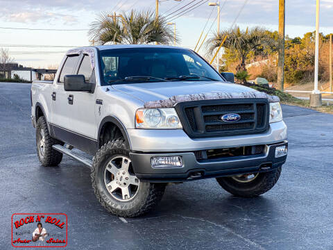 2005 Ford F-150 for sale at Rock 'n Roll Auto Sales in West Columbia SC