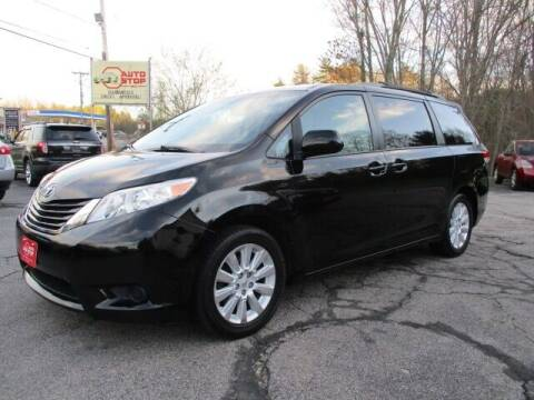 2012 Toyota Sienna for sale at AUTO STOP INC. in Pelham NH