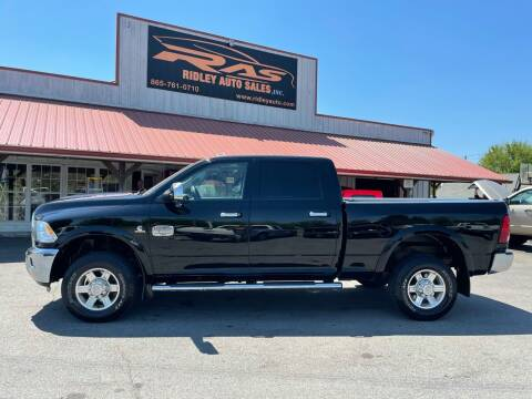 2012 RAM Ram Pickup 2500 for sale at Ridley Auto Sales, Inc. in White Pine TN