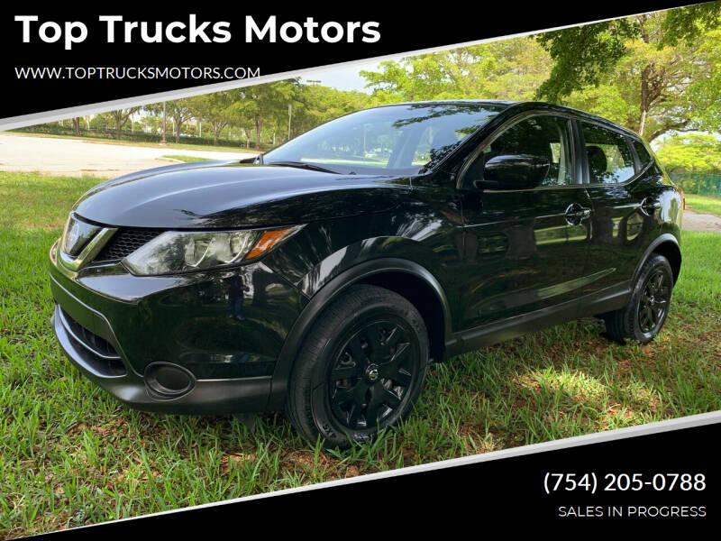 2018 Nissan Rogue Sport for sale at Top Trucks Motors in Pompano Beach FL