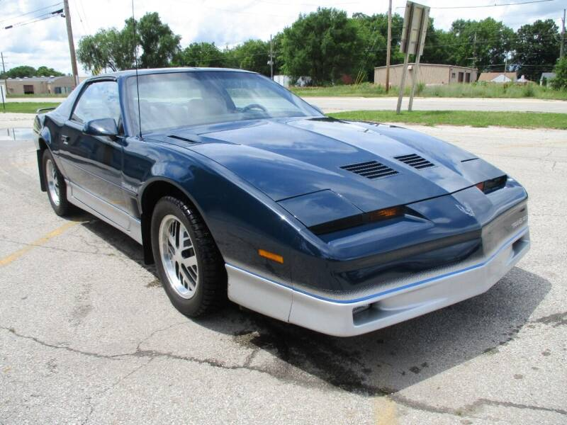 1985 Pontiac Firebird for sale at RJ Motors in Plano IL
