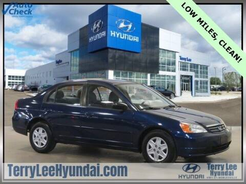 2003 Honda Civic for sale at Terry Lee Hyundai in Noblesville IN