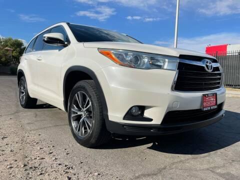 2016 Toyota Highlander for sale at Boktor Motors in Las Vegas NV