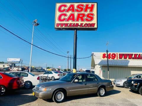 2002 Mercury Grand Marquis for sale at www.CashKarz.com in Dallas TX