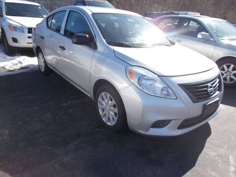 2014 Nissan Versa for sale at MATTESON MOTORS in Raynham MA