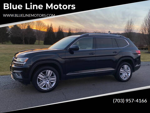 2018 Volkswagen Atlas for sale at Blue Line Motors in Winchester VA