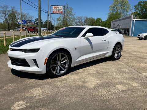 2016 Chevrolet Camaro for sale at A & H Auto Sales in Clanton AL