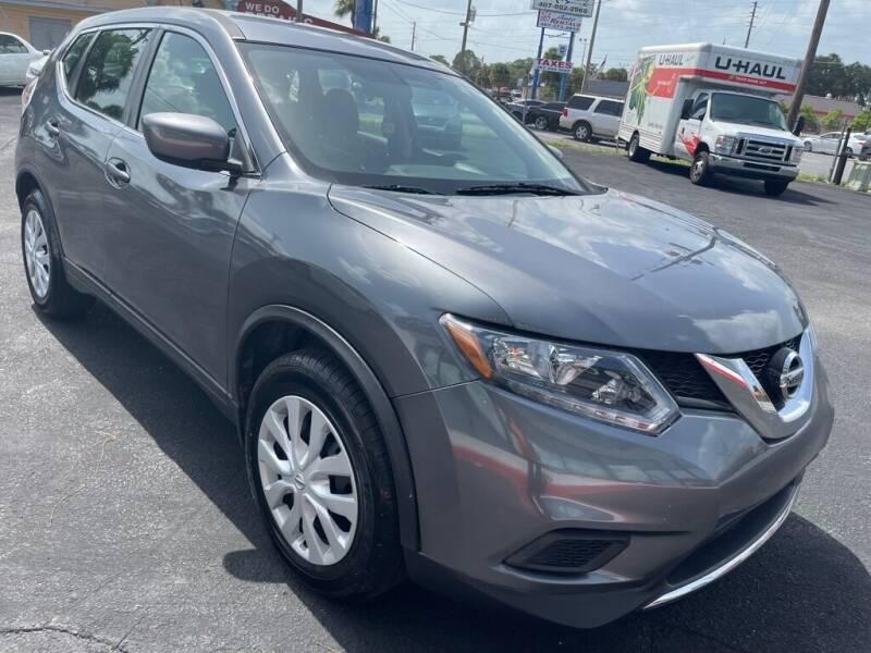 2016 Nissan Rogue for sale at WHEEL UNIK AUTOMOTIVE & ACCESSORIES INC in Orlando FL
