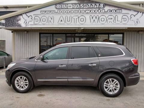 2013 Buick Enclave for sale at Don Auto World in Houston TX