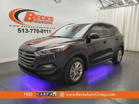 2016 Hyundai Tucson for sale at Becks Auto Group in Mason OH