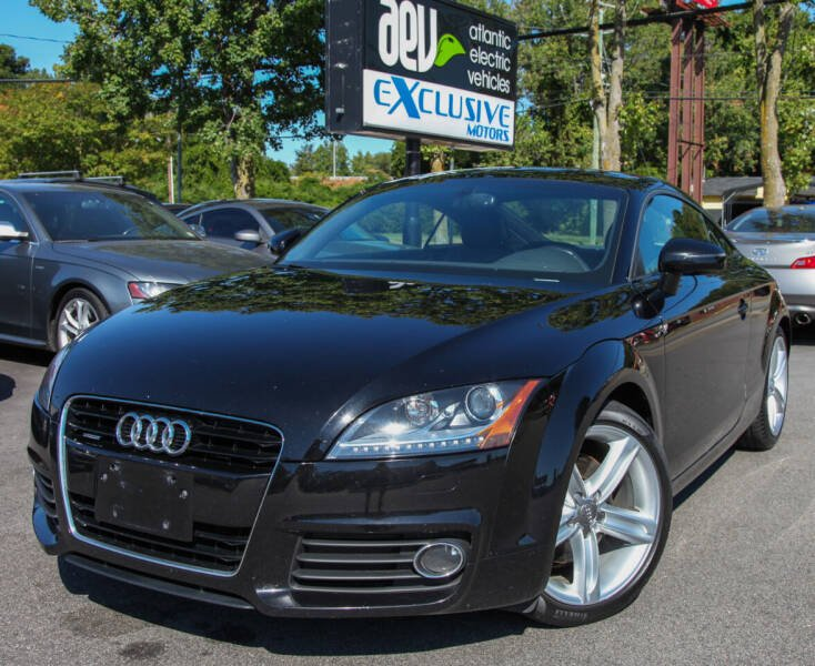 2013 Audi TT for sale at EXCLUSIVE MOTORS in Virginia Beach VA
