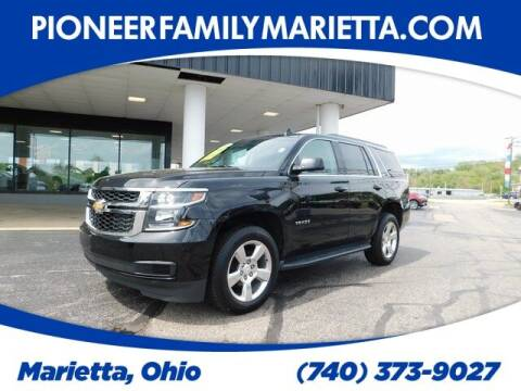 2016 Chevrolet Tahoe for sale at Pioneer Family preowned autos in Williamstown WV
