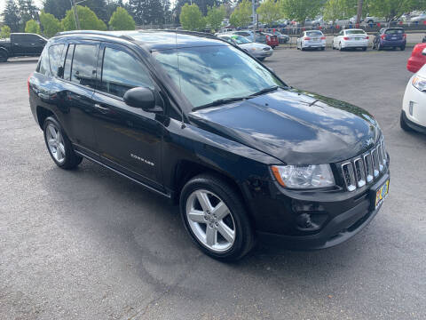 2012 Jeep Compass for sale at Pacific Point Auto Sales in Lakewood WA
