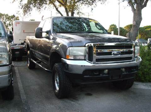 2003 Ford F-250 Super Duty for sale at DAN'S DEALS ON WHEELS in Davie FL