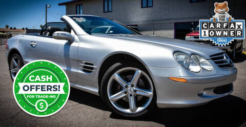 2004 Mercedes-Benz SL-Class for sale at Sahara Pre-Owned Center in Phoenix AZ