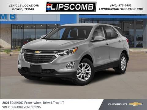 2021 Chevrolet Equinox for sale at Lipscomb Auto Center in Bowie TX