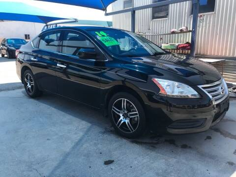 2014 Nissan Sentra for sale at Autos Montes in Socorro TX