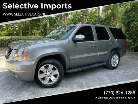 2008 GMC Yukon for sale at Selective Imports in Woodstock GA