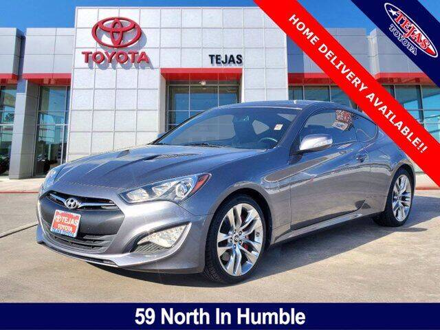 2016 Hyundai Genesis Coupe for sale at TEJAS TOYOTA in Humble TX