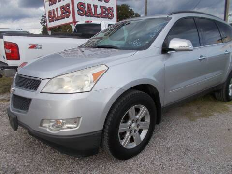 2011 Chevrolet Traverse for sale at OTTO'S AUTO SALES in Gainesville TX