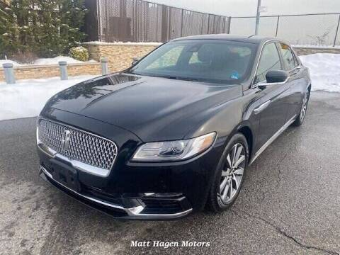 2017 Lincoln Continental for sale at Matt Hagen Motors in Newport NC
