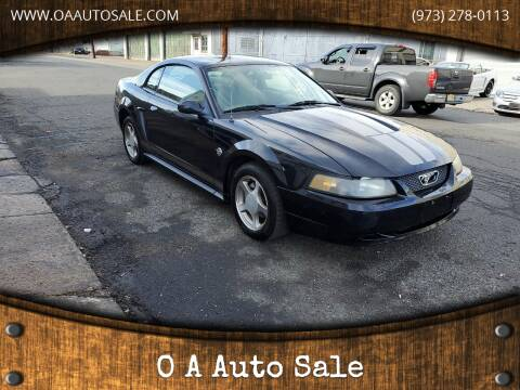 2004 Ford Mustang for sale at O A Auto Sale in Paterson NJ