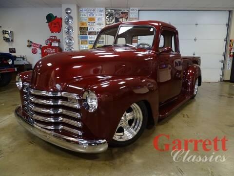 1953 Chevrolet 3100 for sale at Garrett Classics in Lewisville TX