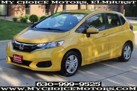 2018 Honda Fit for sale at My Choice Motors Elmhurst in Elmhurst IL