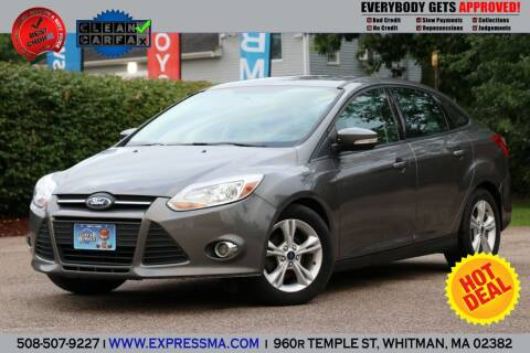 2014 Ford Focus for sale at Auto Sales Express in Whitman MA