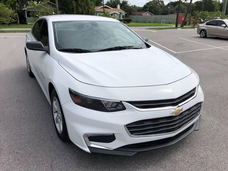 2016 Chevrolet Malibu for sale at Consumer Auto Credit in Tampa FL