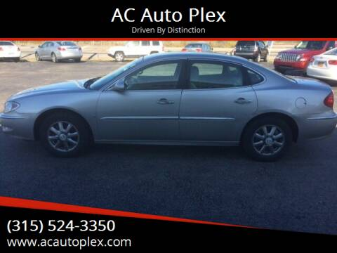 2007 Buick LaCrosse for sale at AC Auto Plex in Ontario NY