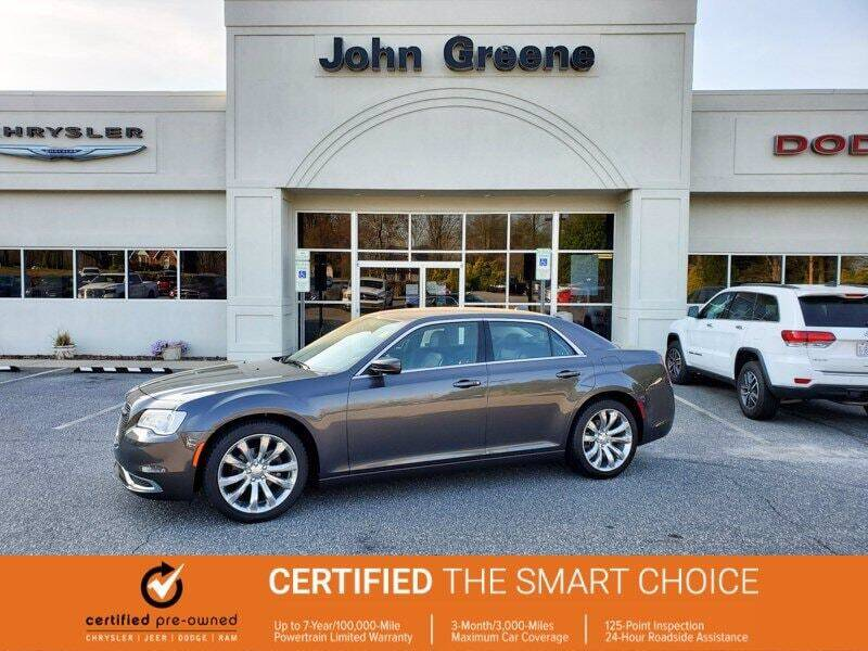 2019 Chrysler 300 for sale at John Greene Chrysler Dodge Jeep Ram in Morganton NC