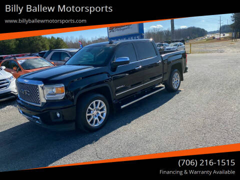 2015 GMC Sierra 1500 for sale at Billy Ballew Motorsports in Dawsonville GA