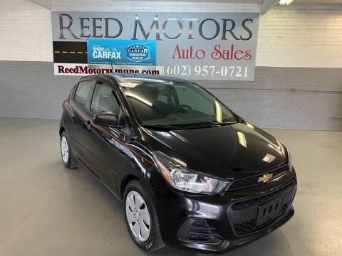 2016 Chevrolet Spark for sale at REED MOTORS LLC in Phoenix AZ