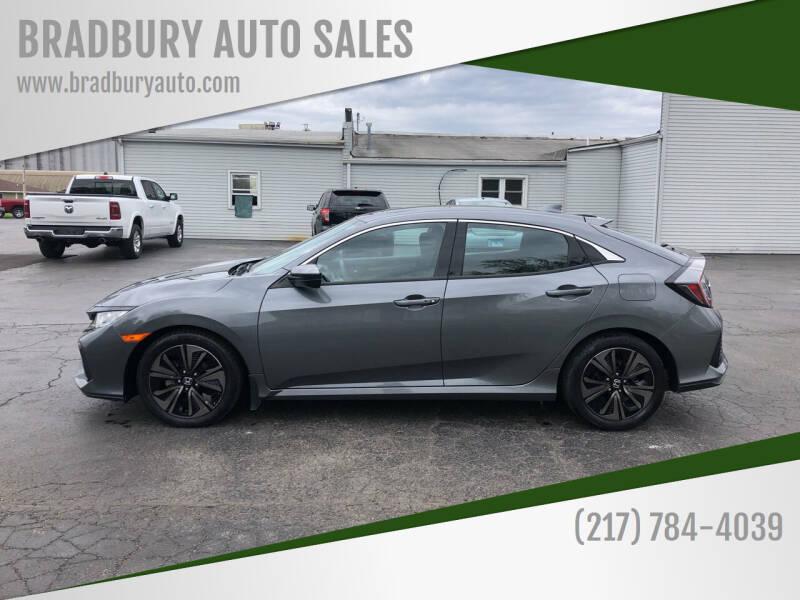 2017 Honda Civic for sale at BRADBURY AUTO SALES in Gibson City IL
