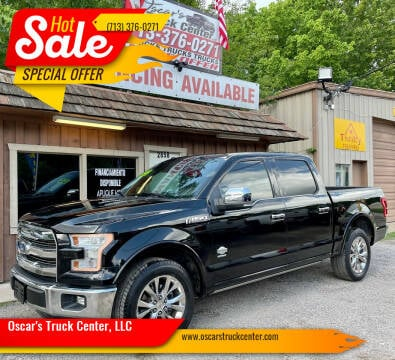 2016 Ford F-150 for sale at Oscar's Truck Center, LLC in Houston TX