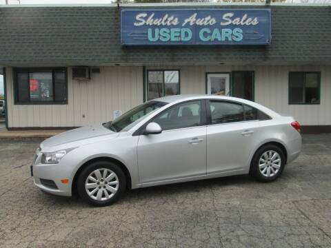 2011 Chevrolet Cruze for sale at SHULTS AUTO SALES INC. in Crystal Lake IL