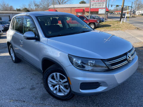 2014 Volkswagen Tiguan for sale at Noel Motors LLC in Griffin GA