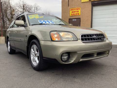 2004 Subaru Outback for sale at Active Auto Sales Inc in Philadelphia PA