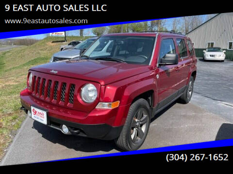 2013 Jeep Patriot for sale at 9 EAST AUTO SALES LLC in Martinsburg WV