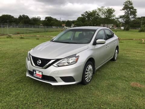 2016 Nissan Sentra for sale at LA PULGA DE AUTOS in Dallas TX