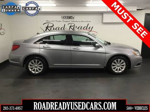 2013 Chrysler 200 for sale at Road Ready Used Cars in Ansonia CT