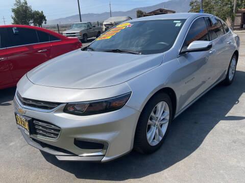 2016 Chevrolet Malibu for sale at Soledad Auto Sales in Soledad CA
