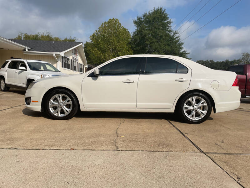 2012 Ford Fusion for sale at H3 Auto Group in Huntsville TX