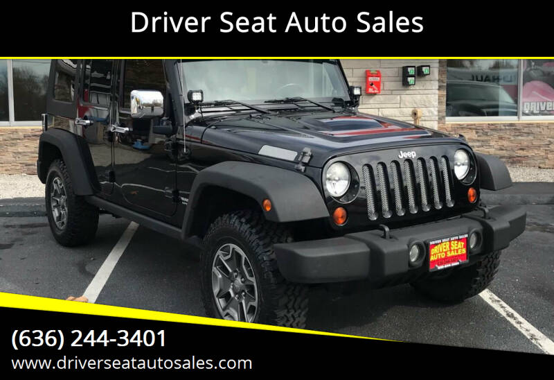 2009 Jeep Wrangler Unlimited for sale at Driver Seat Auto Sales in St. Charles MO