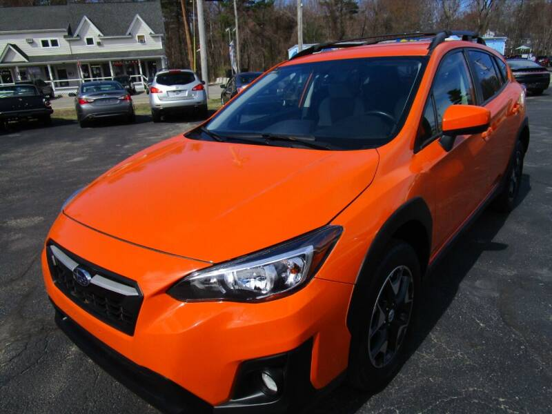 2018 Subaru Crosstrek for sale at Route 12 Auto Sales in Leominster MA